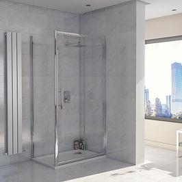 Sliding Shower Door 1000 mm