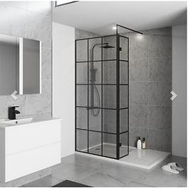 Krittal Wet Room Screen - 700mm