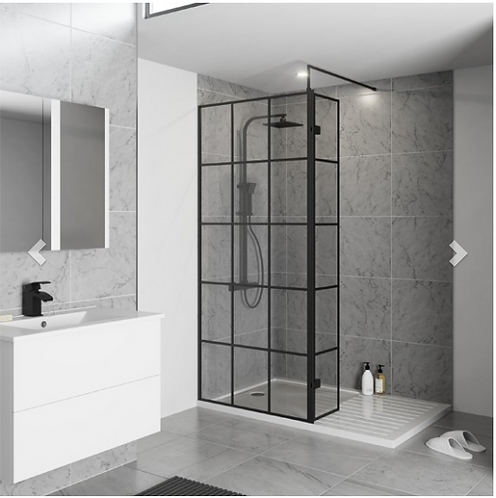 Krittal Wet Room Screen - 700mm