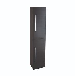Idon 300 Black 2 Door Tall Storage Cabinet
