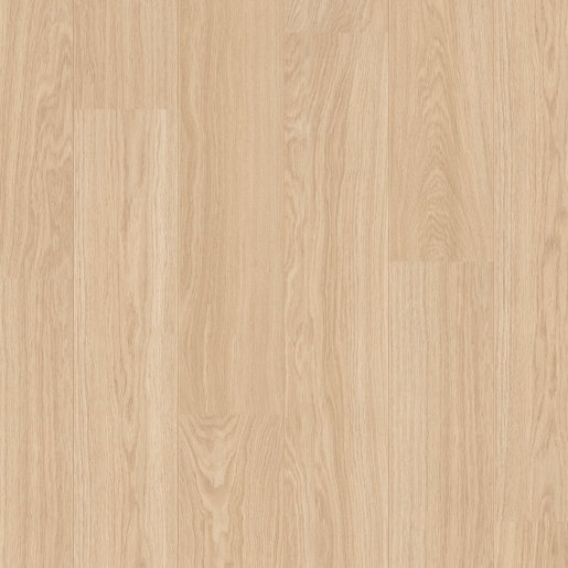 Quick Step: Perspective Wide - Oak White Oiled Laminate Flooring