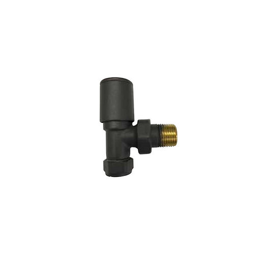 Modern Valves Anthracite (Pair) Straight