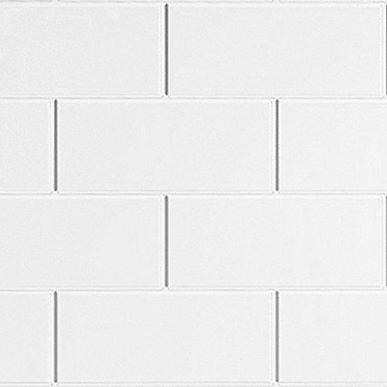 Multipanel Tilepanel Classic Brick White Horizontal - MTPBVWH
