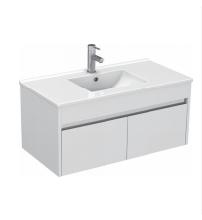 Gloss White Wall Mounted Basin 910mm - Icladd Solid PVC Furniture