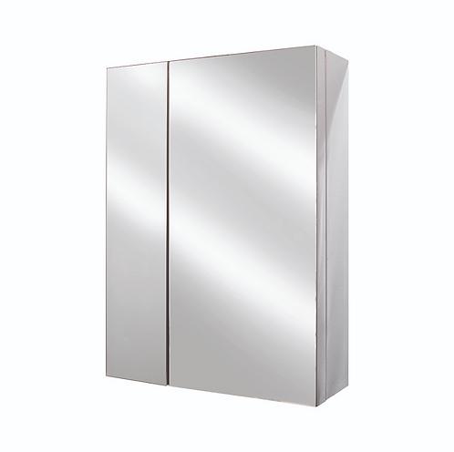 Dual-Door Mirror Cabinet