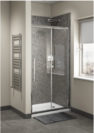 CASS EIGHT OFFSET QUADRANT SHOWER ENCLOSURE 1200X800MM