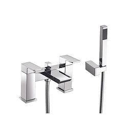Eve Bath Shower Mixer with shower kit and wall bracket