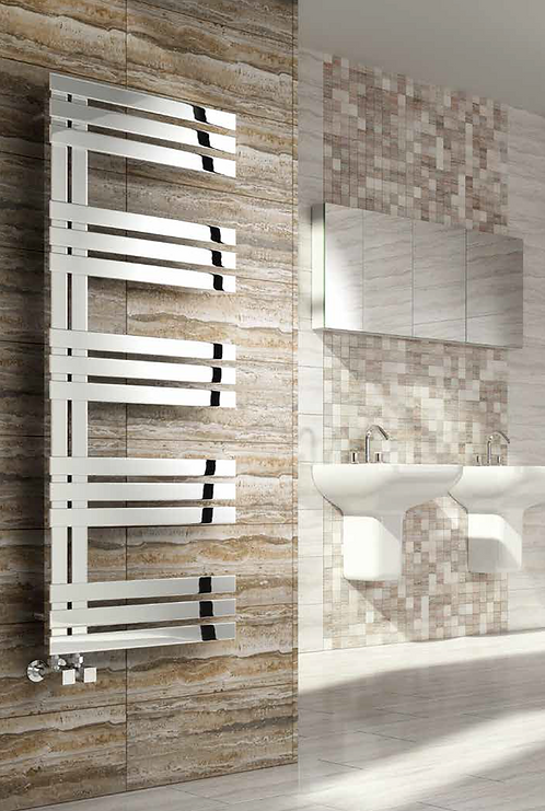 LOVERE STAINLESS STEEL RADIATOR 500 X 690 POLISHED
