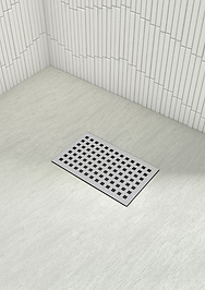 Shower Waste Metal Cover for Stone Trays