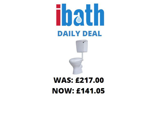 DEAL OF THE DAY: ALPHA LOW LEVEL TOILET