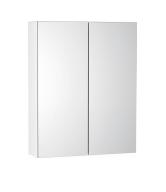 Mirror Cabinet 600mm - Icladd Solid PVC Furniture