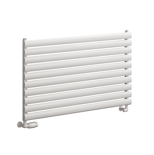 RODA DESIGNER RADIATOR - 590 X 600 SINGLE WHITE