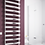 Thumbnail: DENO 500x992 BRUSHED STAINLESS STEEL TOWEL RAIL