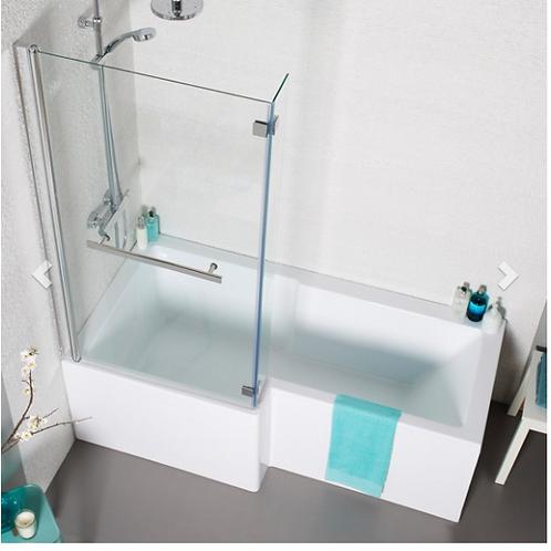 Tetris Square-Shaped Shower Bath (1700)