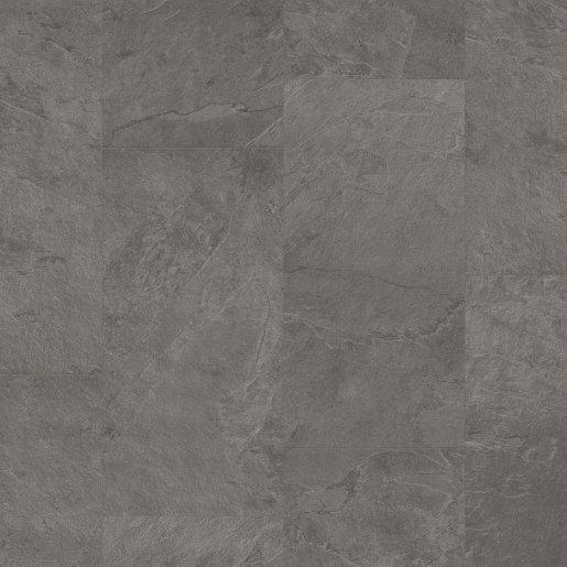 Quick Step: Grey Slate Vinyl Flooring Tiles