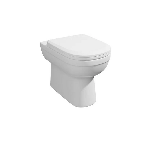 Lifestyle Comfort Height BTW WC Pan and Soft Close Seat
