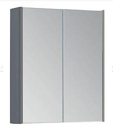 Options 500mm Mirror Cabinet - Basalt Grey