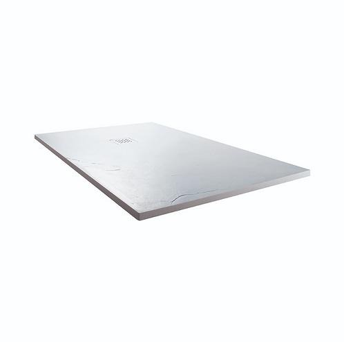 White 1200x900x25mm Rectangular Shower Tray