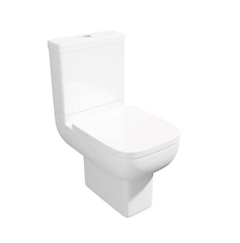 Options 600 Comfort Height CC Pan, Cistern and soft close seat