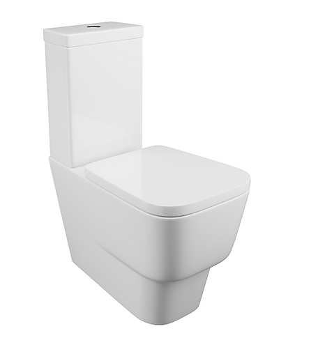Dearne Close Coupled Pan & Cistern - Wrapover Seat