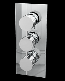 Delphin Triple Round Concealed Valve (Dual Function)