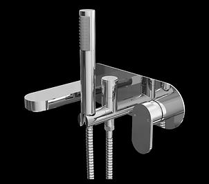 Filo Wall Mounted Bath Shower Mixer Tap
