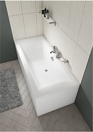 LIME DOUBLE ENDED STRAIGHT BATH 1700X750MM