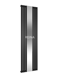REFLECT 1800 x 449 BLACK DESIGNER RADIATOR