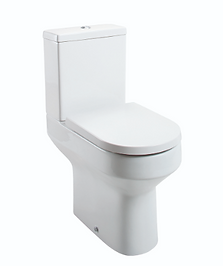 MONTEGO COMFORT HEIGHT CLOSE COUPLED PAN AND CISTERN SEAT NOT INCLUDED