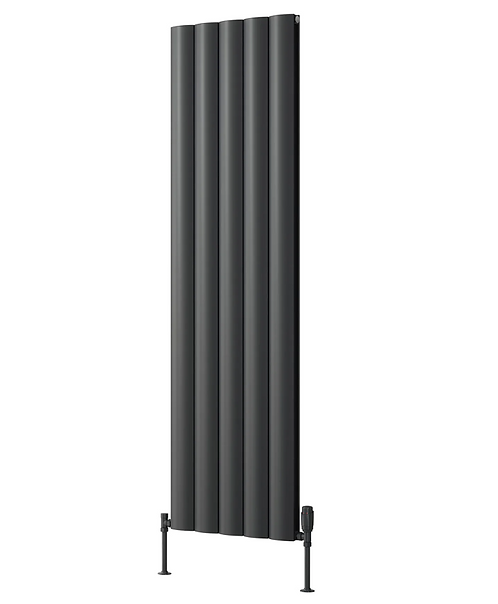 BELVA ALUMINIUM RADIATOR - 1800 X 412 SINGLE ANTHRACITE
