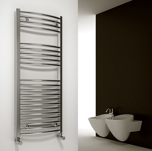Diva Chrome Electric (Curved) 1200 x 400