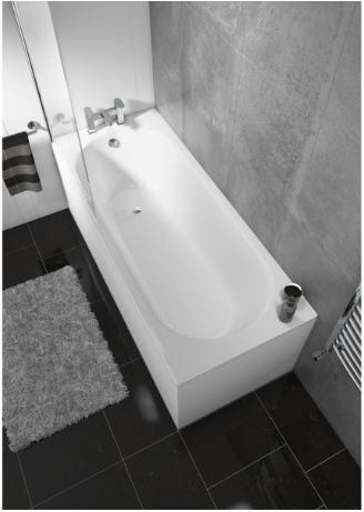 DELPH STRAIGHT STANDARD BATH 1700X700MM