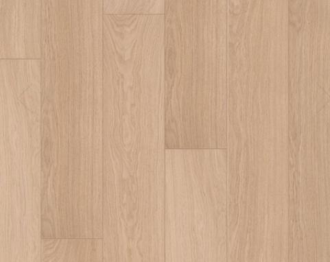 Quick Step: Impressive White Varnished Oak Laminate Flooring