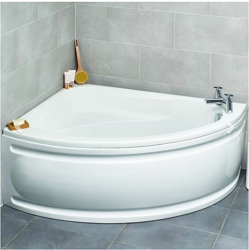 Formula Offset Corner Bath with bath panel