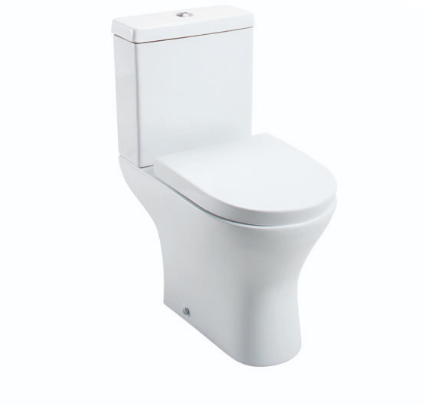 SPEK CLOSE COUPLED PAN & CISTERN WITH WRAPOVER SEAT OPTION
