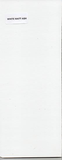 White Matt Ash - Icladd