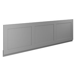 1700 Front Panel Charcoal Grey