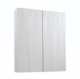 Idon 600 Gloss White Mirror Cabinet