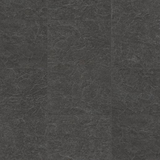 Quick Step: Exquisa Slate Black Galaxy Tile Laminate Flooring