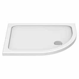 Offset QUAD 900 x 760mm LH Shower Tray