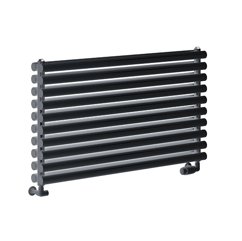 NEVAH DESIGNER RADIATOR - 295 X 1000 DOUBLE ANTHRACITE