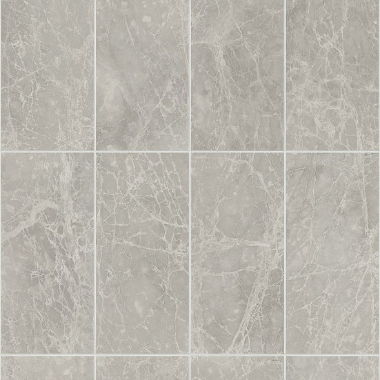 Guardian Large Tile Effect PVC Bathroom Panels - Classic Graphite - Pack of 4