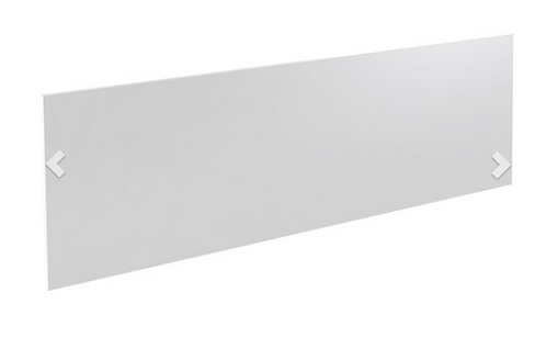 Ikon Bath End Panel 750mm - White