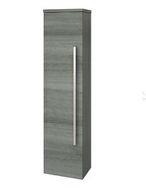 Purity Cloakroom Unit - Grey Ash