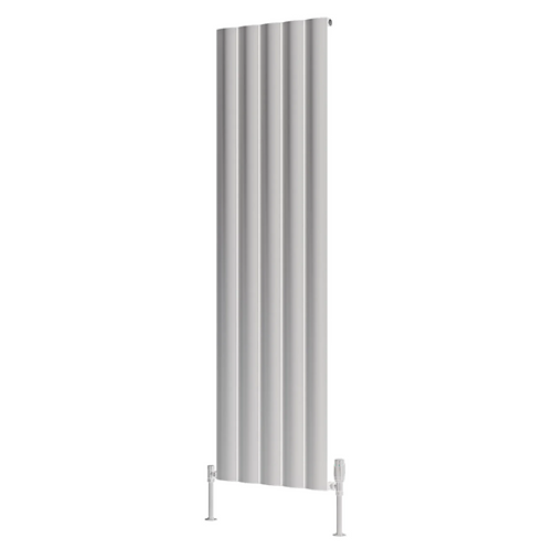 BELVA ALUMINIUM RADIATOR - 1800 X 516 SINGLE WHITE
