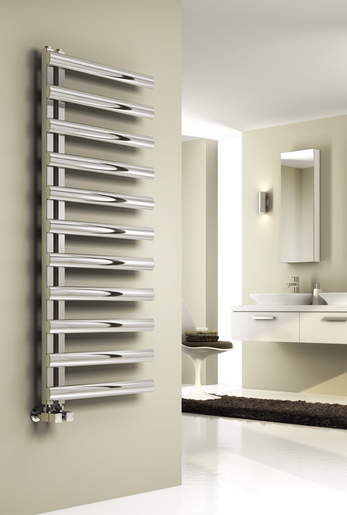 CAVO 1580 X 500 BRUSHED STAINLESS STEEL TOWEL RAIL