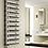 Thumbnail: CAVO 880 X 500 POLISHED STAINLESS STEEL TOWEL RAIL