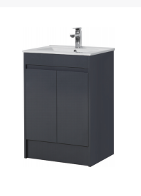 Dark Grey Basin - Icladd Solid PVC Furniture