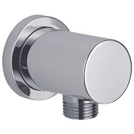 Round Shower Wall Outlet Elbow