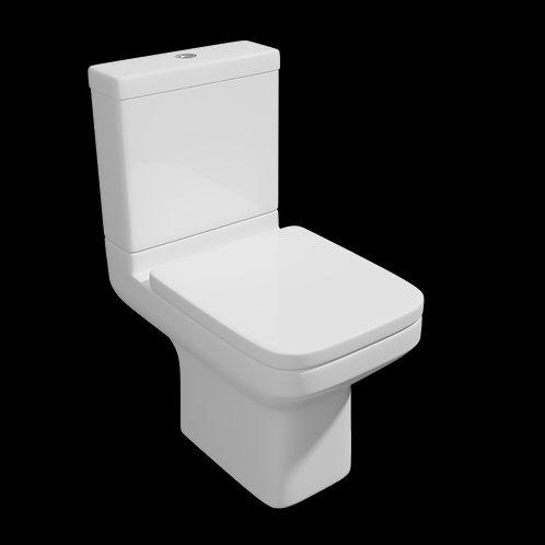 Trim CC WC Pan, Cistern & Seat